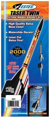Estes taser twin a simple to build rocket with great performance estes taser twin a simple to build rocket with great performance the taser solutioingenieria Choice Image