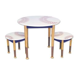 Baseball Table And Chairs Baseball Table Wooden Toddler Table Kids Table Chair Set