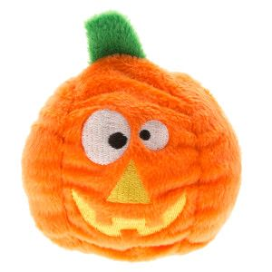 Kong Pet Halloween Pumpkin Plush Dog Toy Toys Petsmart