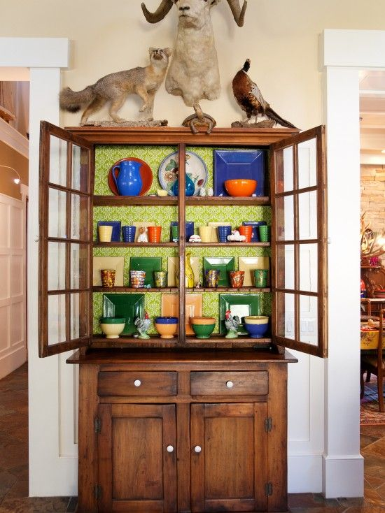 Elegant Cabinet Shelf Liner Ideas