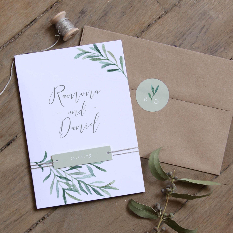 Hochzeitseinladung Provence - Cotton Bird