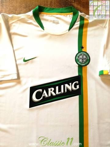 62621fc6dcb Official Nike Celtic away football shirt from the 2006 2007 season.