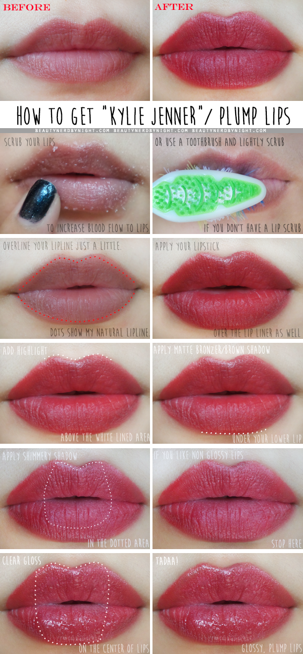 30 fuller lips tutorials to get you all set to pucker up! – cute.