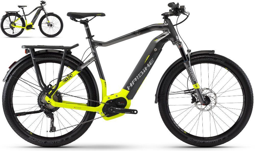 Haibike Sduro Trekking 9 0 2018 Bosch New Electric Bike Bicycle Hybrid Electric Bike