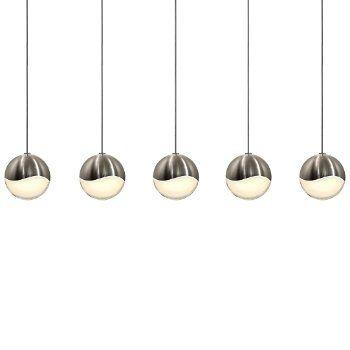 Pleasant Grapes Led 5 Light Rectangular Multipoint Pendant Light Interior Design Ideas Jittwwsoteloinfo