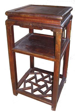 Oriental Furnishings Chinese Antique Wooden Plant Stand 342 00 Http Www