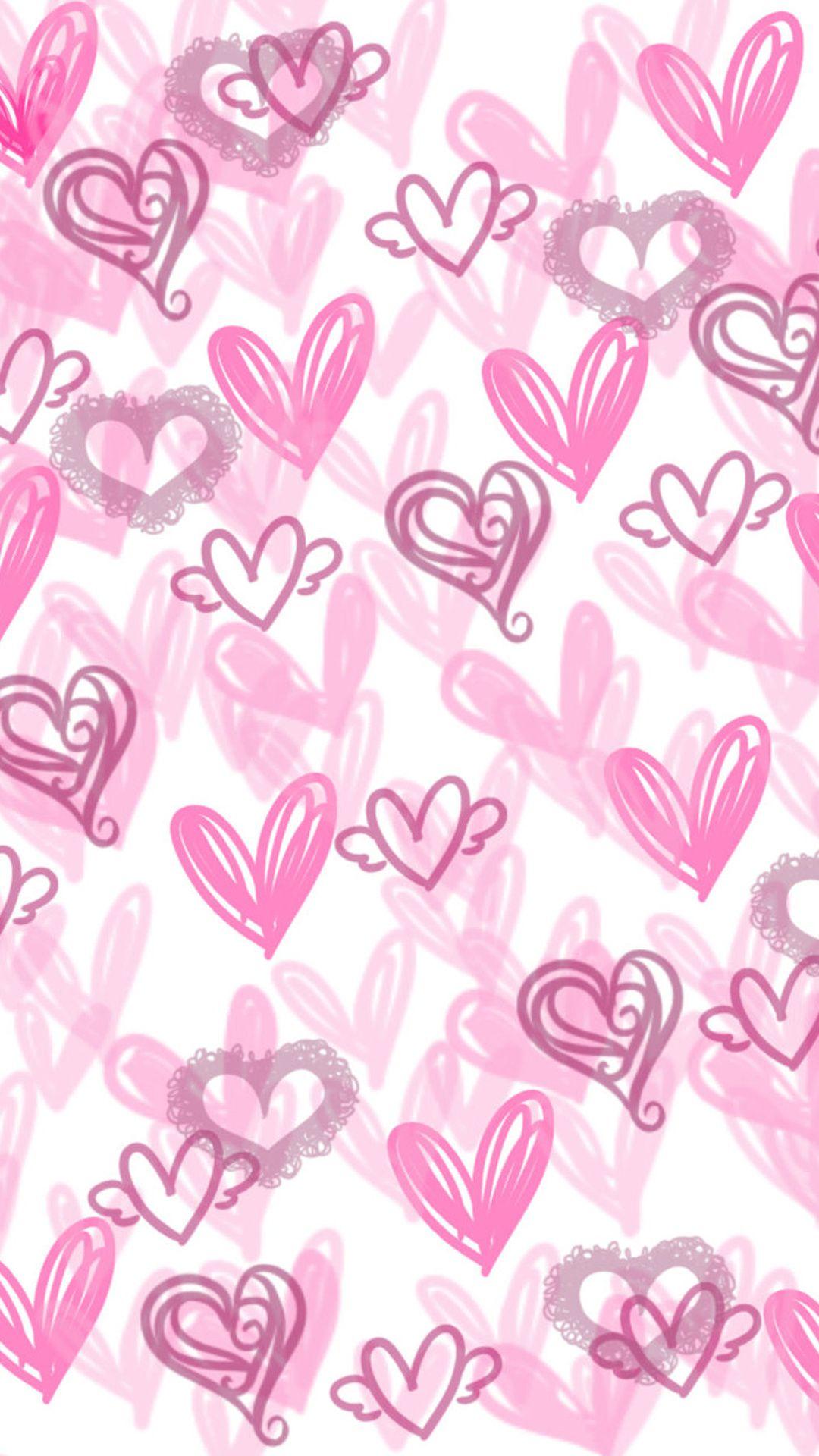 Cute Hearts Wallpaper Backgrounds
