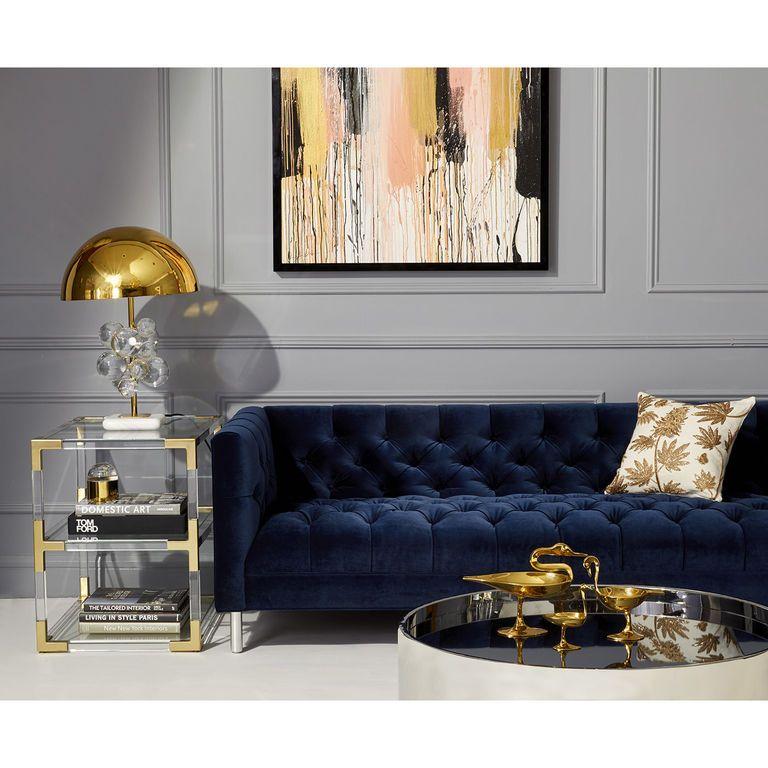 Baxter Sofa Blue Sofas Living Room Blue Living Room Decor Living Room Decor Apartment