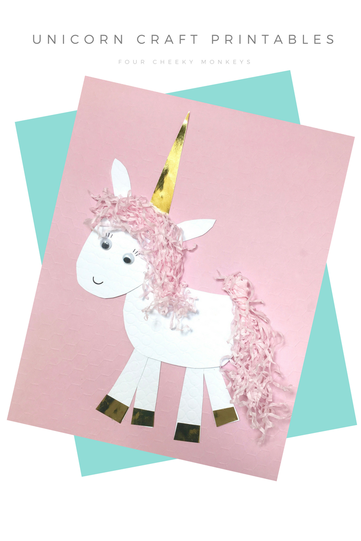 Unicorn Craft Activity Flower Crown And Free Printables Unicorn