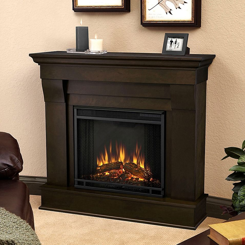 Real Flame Cau Electric Fireplace In Walnut 2019