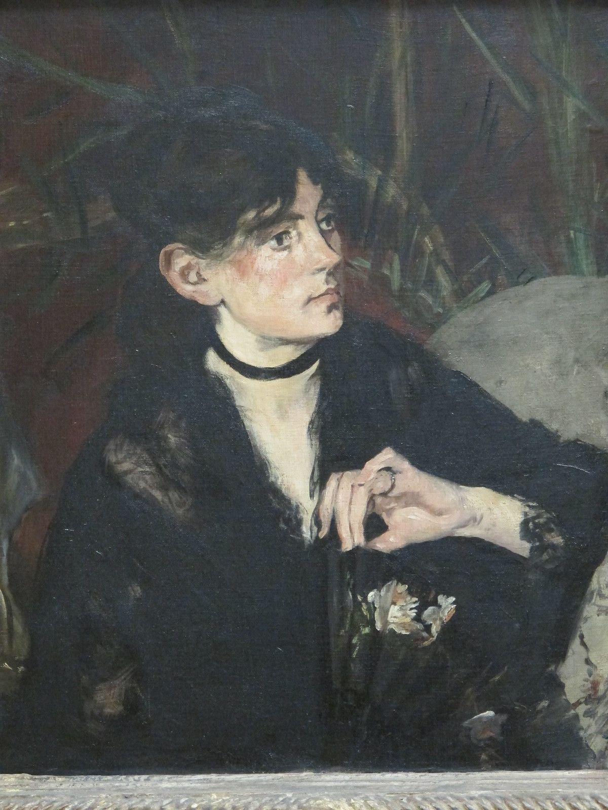 Berthe Morisot A L Eventail 1874 Edouard Manet Palais Des Beaux Arts De Lille 59 Berthe Morisot Edouard Manet Morisot