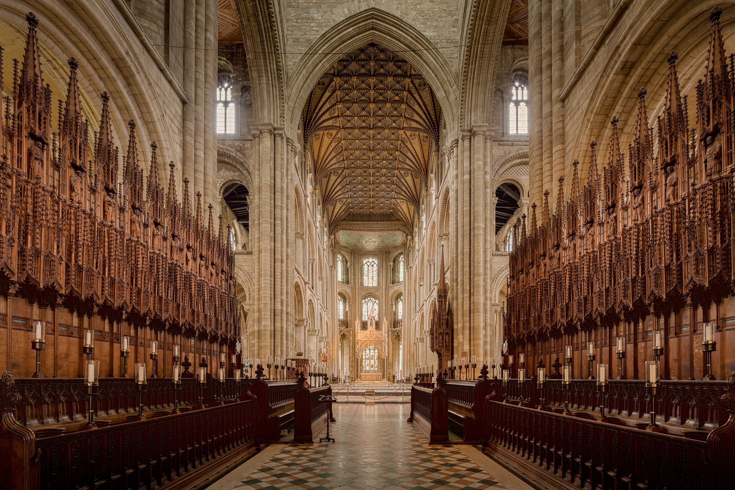 Peterborough Cathedral A Glimpse of Heaven