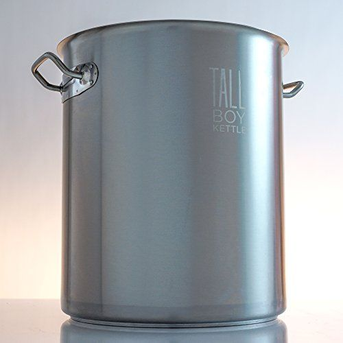 Tall Boy Home Brewing Kettle Stainless Steel Stock Pot 10 Gallon