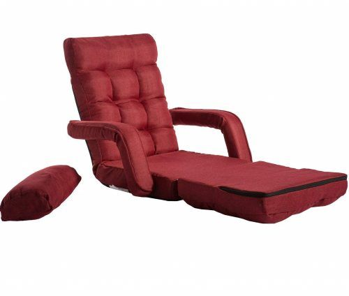 Magnificent 6 Merax Folding Lazy Floor Chair Sofa Lounger Bed With Andrewgaddart Wooden Chair Designs For Living Room Andrewgaddartcom