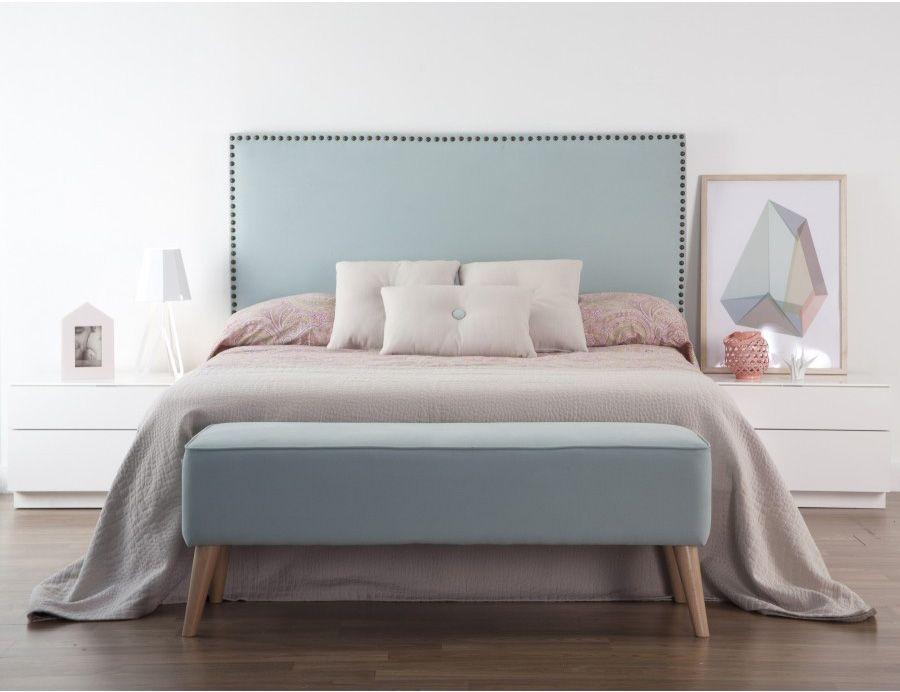 Cabeceros acolchados free cabecero tapizado con polipiel - Cabeceros acolchados cama ...