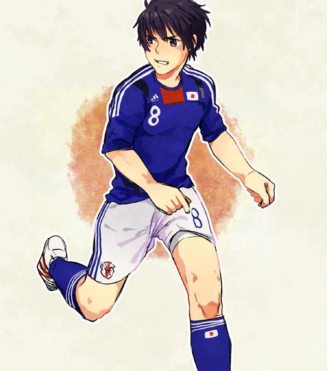 Footballer Japan Hetalia Japan Hetalia Funny Hetalia