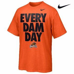 Nike Mens Beavers Football Graphic T-Shirt