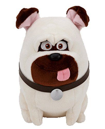 Ty Beanie Babies Secret Life Of Pets 8 Mel Check Out This Great Product Note It Is Affiliate Link To Amazon Beanie Boo Dogs Boo The Dog Baby Pug Dog