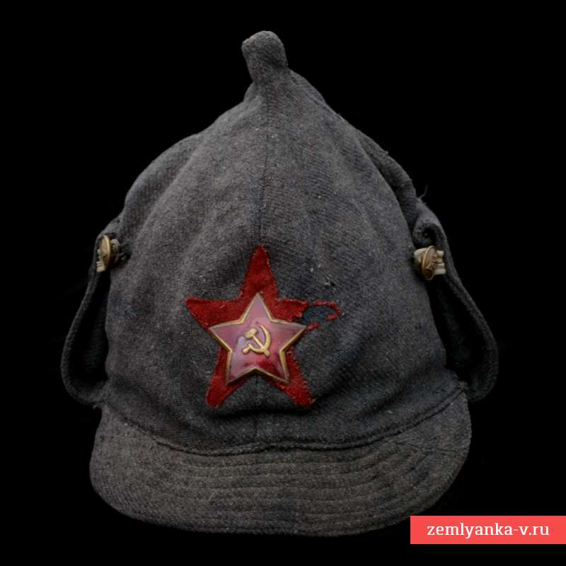 The Budenovka Winter Helmet Of The Nkvd Of The Sample 1931 Ussr Buy For 566 In Military Antiques Zemlyank Military Antiques Stuff To Buy Five Pointed Star