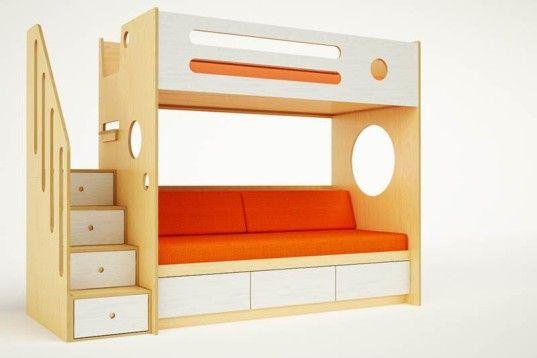 casa kids furniture. Casa Kids\u0027 Marino Bunk Over Daybed Is Perfect For Siblings Or Sleepover Fun Kids Furniture
