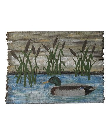 Take a look at this Mallard Wall Art by Park Designs on #zulily today!