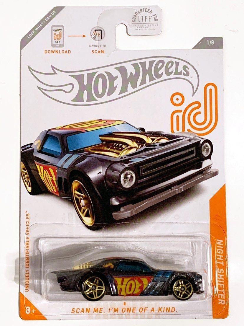 Hot Wheels Id Chase Car Night Shifter Mercari Hot Wheels Hot Wheels Cars Hot Weels