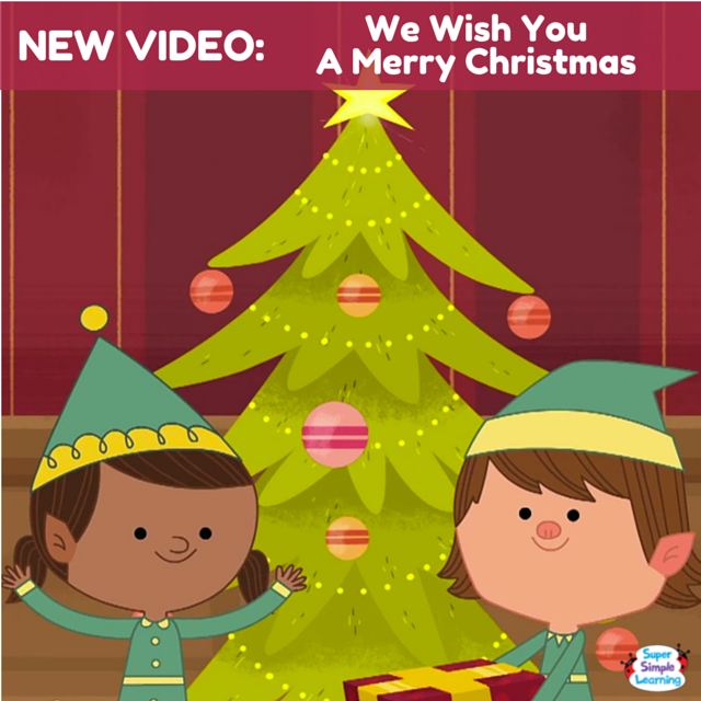 It S The Classic Christmas Carol We Wish You A Merry Christmas With An Action Verb Twist