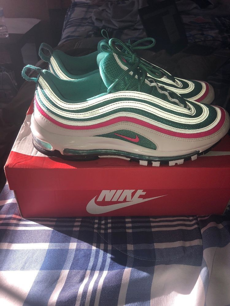 timeless design ac21d 16820 ... switzerland nike air max 97 south beach mens size 10 running shoes  fashion clothing 79f94 8a6f4