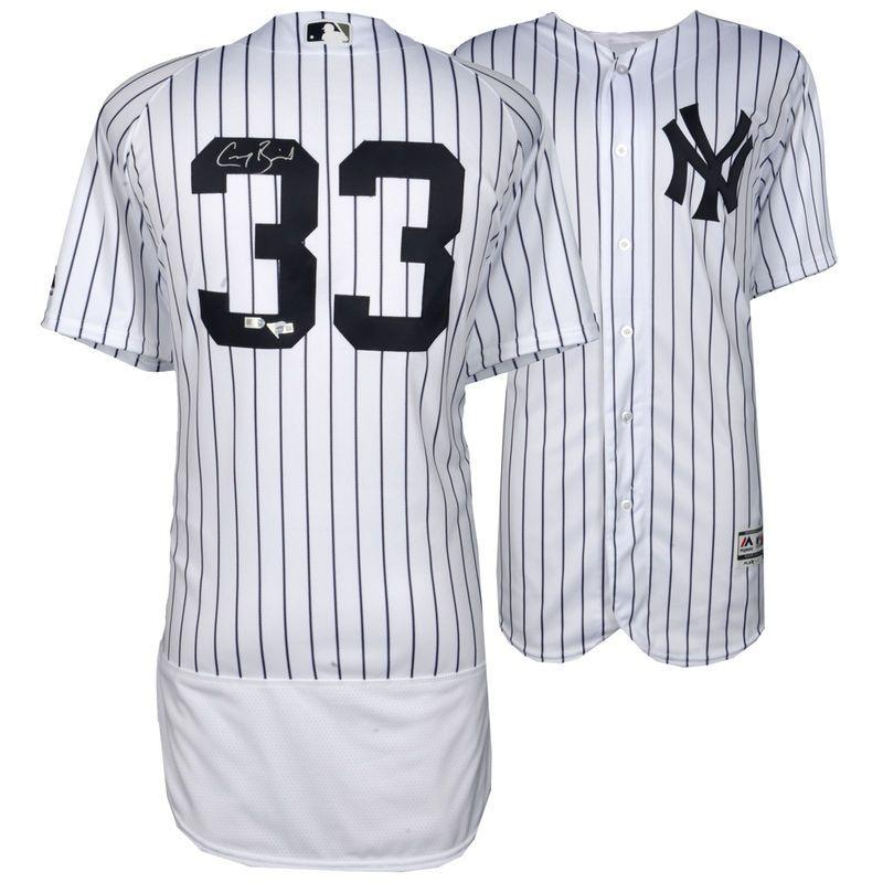 dff15c816 Greg Bird New York Yankees Fanatics Authentic Autographed Majestic White  Authentic Jersey