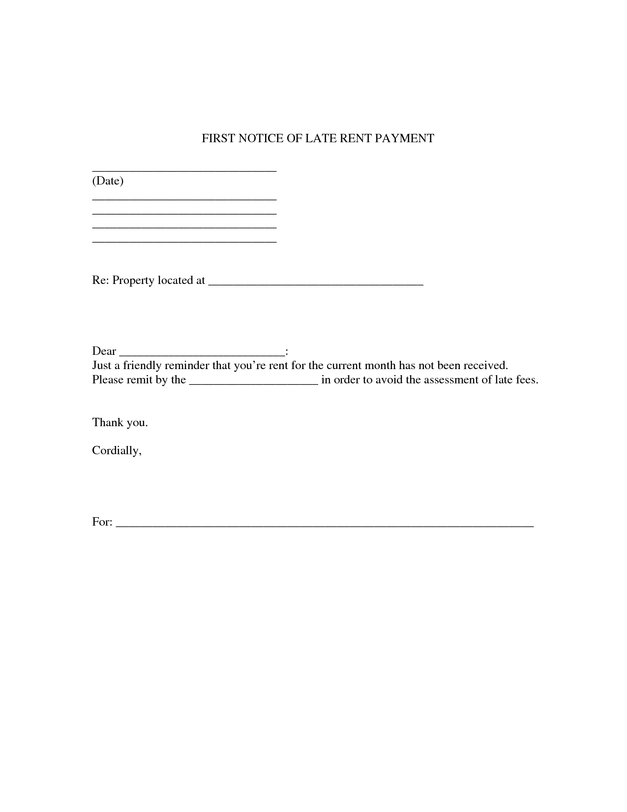 Late Rent Notice Letter Sample Image Gallery ImgGrid late rent – Late Rent Notice Template
