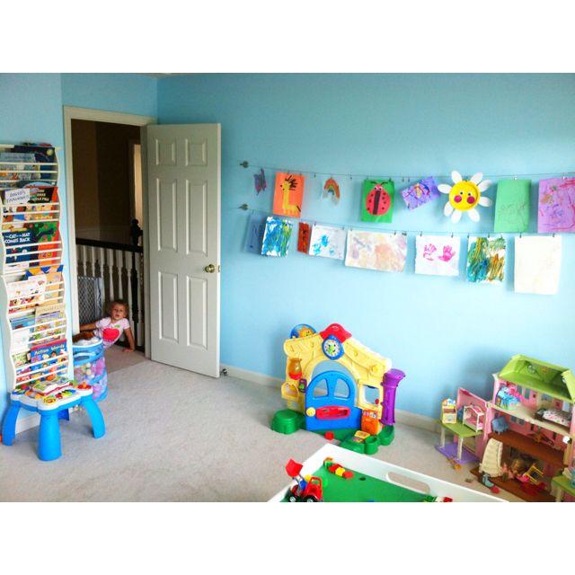 Playroom...art Wall
