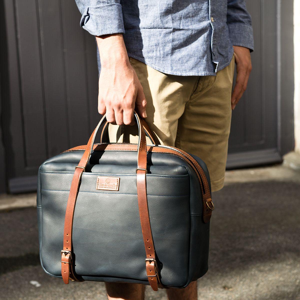 dff004e3cae Bleu de Chauffe - Business bag Report