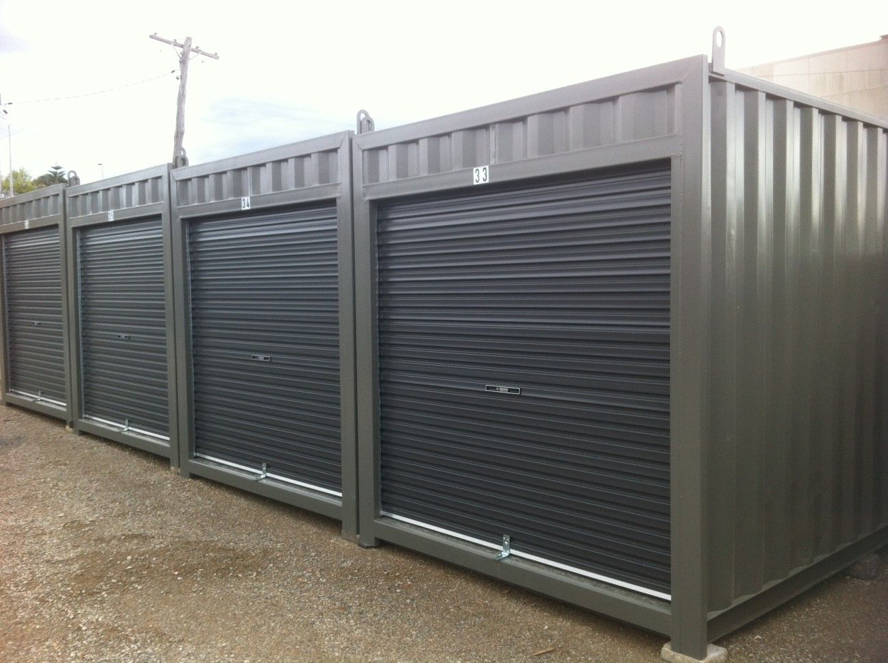 Modifications Containerspace Shipping Container Self Storage Storage Containers