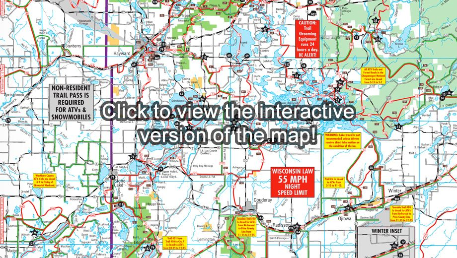 Hayward, Wisconsin ATV / Snowmobile Trails | Midwest ATV ... on chippewa county wi trail map, vilas county snowmobile map, sawyer county plat maps, milwaukee county trail map, sawyer county warrant list, washburn atv trail map, rusk county texas map, sawyer county record obits, lake sawyer trail map, walker valley orv trail map, sawyer county wisconsin snowmobile trails, vilas county atv trail map, sawyer county wisconsin map, sawyer county wi, sawyer county land records, wisconsin national forest map, iron county snowmobile map, douglas county trail map, washington county ny snowmobile map, chautauqua trail map,