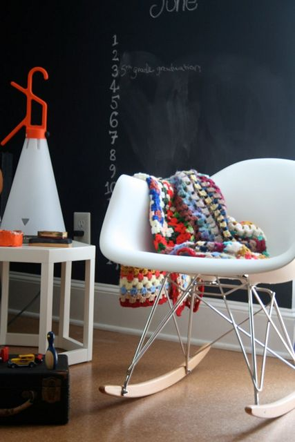 in the playroom | Cozy, Eames rocking chair and Rocking chairs