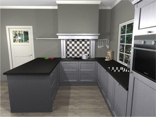 U vorm keukens google zoeken keuken pinterest keukens vorm en zoeken - Eigentijdse keuken grijs ...