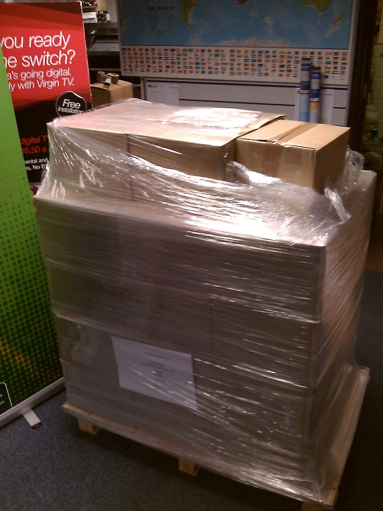 3000 copies of the Bletchley Park Times on their way!