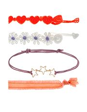 4 x Flower Heart and Star Mixed Wear Pack