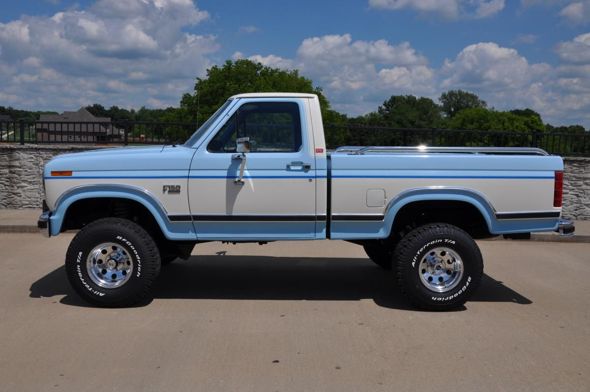 1986 Ford F 150 Lariat Xlt 4x4 Ford Trucks Ford Pickup Trucks