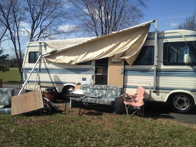 How to Replace RV Slide Topper Awning Fabric | Trailer ...