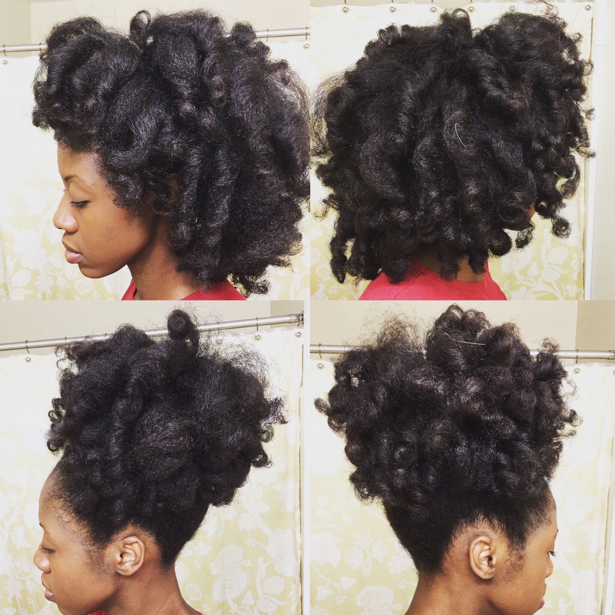 perm rod curls on blow dried hair | perm rod set, perm rods and