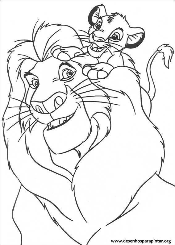 Rei Leao Para Colorir Pesquisa Google Lion Coloring Pages