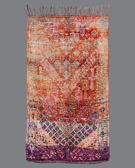 Vintage Moroccan Rug, Beni M'Guild #BG122