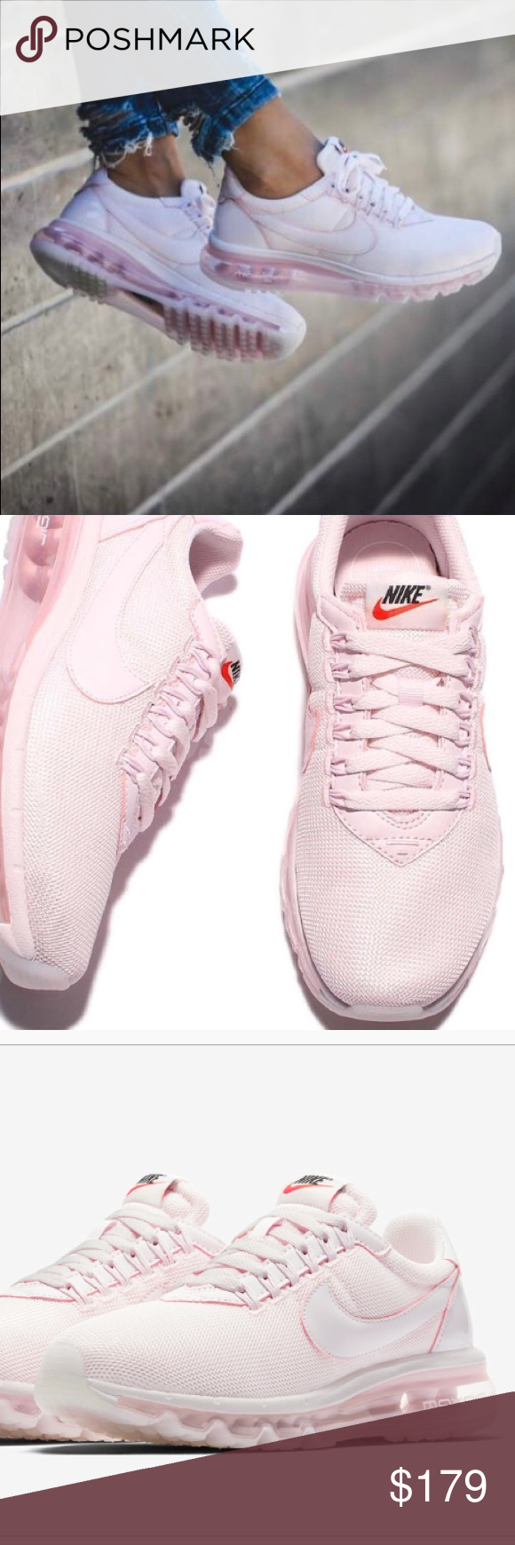 92e166cba9 NWT💕Nike Air Max LD-Zero SE Pearl Pink Brand new in box. Price is firm.  Special edition shoe released for Air Max day (3/26). Half old-school  style, ...