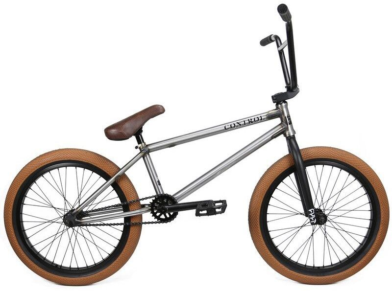 Cult Control 2016 Raw Complete Bmx Bike Bakerized Action