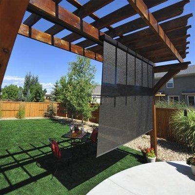 Heavy Duty Outdoor Solar Shades Blinds Com Exterior Solar Shade Outdoor Shade Patio Shade