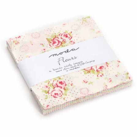 """Moda KINDRED SPIRITS Layer Cake 42 10/"""" Quilt Fabric Squares 2890LC by Bunny Hill"""