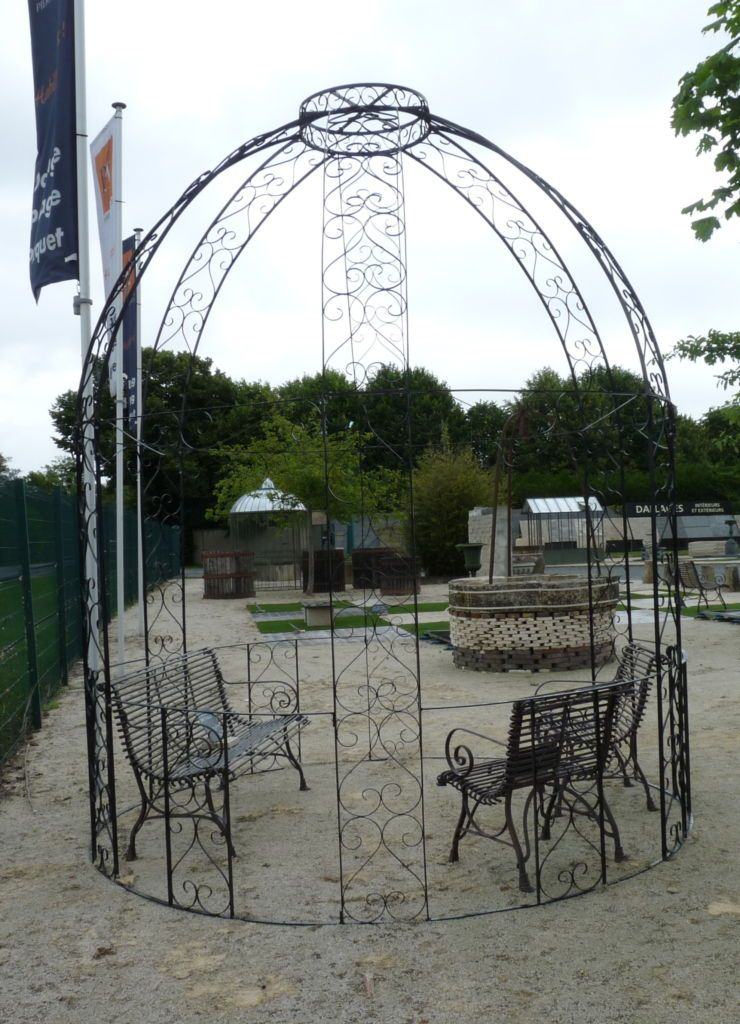 Gloriette En Fer Forge A L Ancienne Hauteur 320 Cm Gloriette Element Architectural Jardins