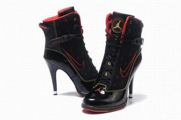 online store 80a9f a9e43 nike air jordan 6 rings heels black/red/yellow | Unbedingt kaufen ...
