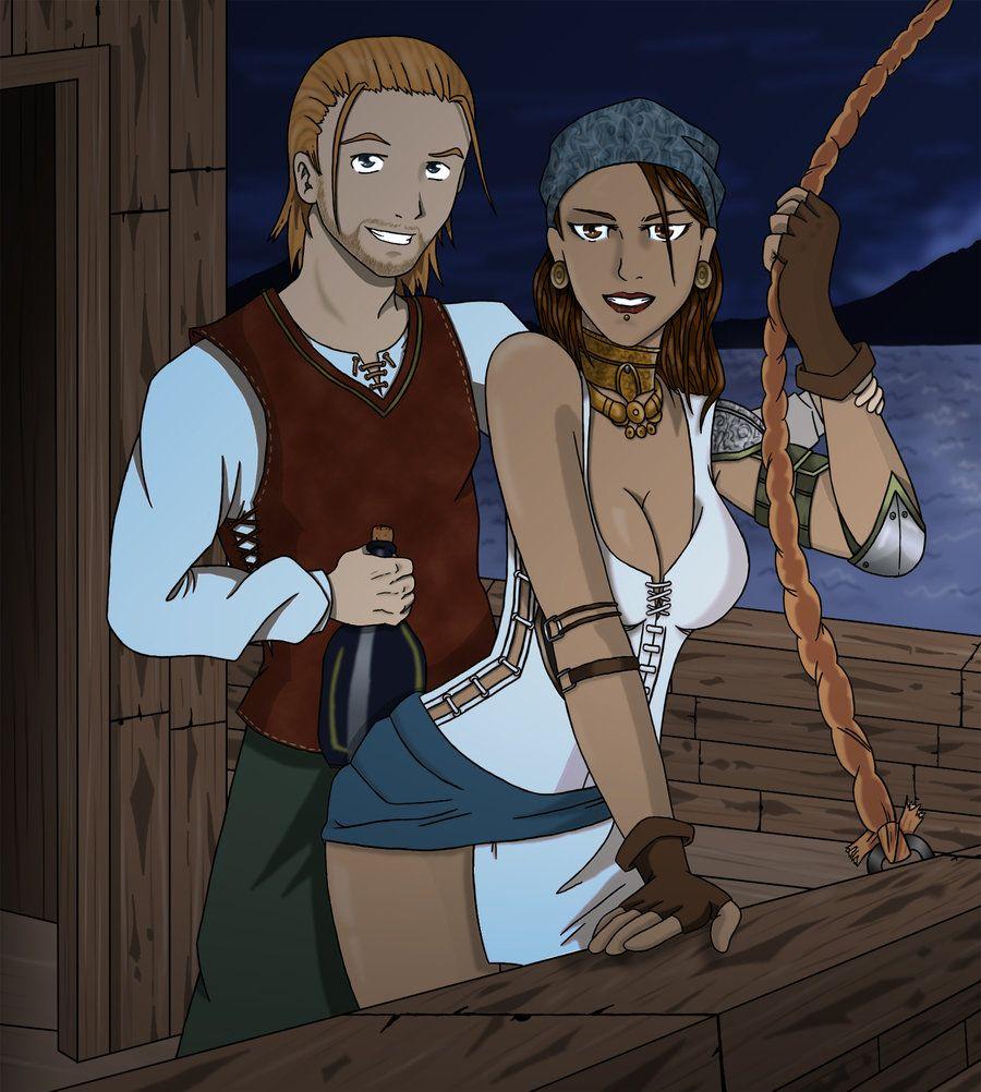 Isabela and Alder by Sakatak.deviantart.com on @deviantART